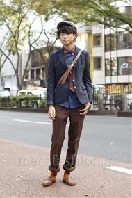 ファッションコーディネート原宿・表参道 2011年11月 かせけいたさん