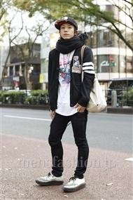 ファッションコーディネート原宿・表参道 2011年11月 コジィさん