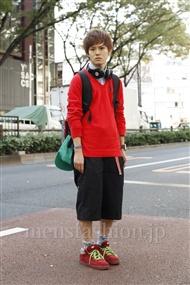 ファッションコーディネート原宿・表参道 2011年11月 根本晋太郎さん
