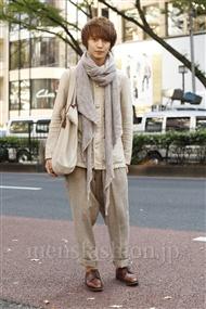 ファッションコーディネート原宿・表参道 2011年11月 森 啓輔さん