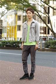 ファッションコーディネート原宿・表参道 2011年11月 山本 隼さん