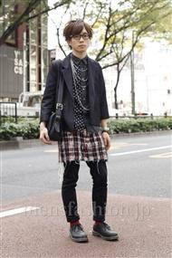 ファッションコーディネート原宿・表参道 2011年11月 Q太郎さん