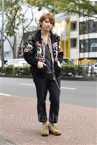 ファッションコーディネート原宿・表参道 2011年11月 寺村優太さん