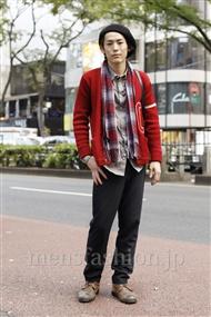 ファッションコーディネート原宿・表参道 2011年11月 佐藤真那人さん