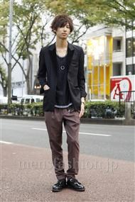 ファッションコーディネート原宿・表参道 2011年11月 飯島彰彦さん