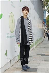 ファッションコーディネート原宿・表参道 2011年11月 DAIKIさん