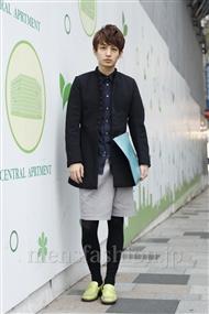 ファッションコーディネート原宿・表参道 2011年11月 小島慶大さん