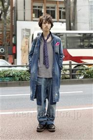 ファッションコーディネート原宿・表参道 2011年11月 浦辻大奨さん