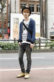 ファッションコーディネート原宿・表参道 2011年11月 富井累示さん