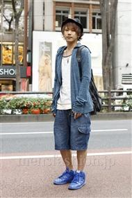 ファッションコーディネート原宿・表参道 2011年11月 永田 格さん
