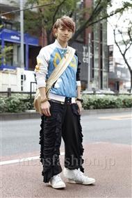 ファッションコーディネート原宿・表参道 2011年11月 浜本忠勝さん