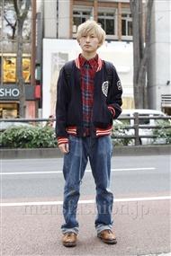 ファッションコーディネート原宿・表参道 2011年11月 松金祐大さん