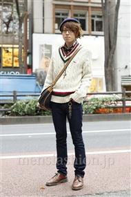 ファッションコーディネート原宿・表参道 2011年11月 キヌヨシさん