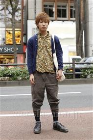ファッションコーディネート原宿・表参道 2011年11月 ユウさん
