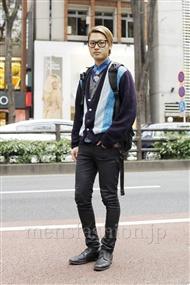 ファッションコーディネート原宿・表参道 2011年11月 タモツさん