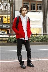 ファッションコーディネート原宿・表参道 2011年11月 SOEさん