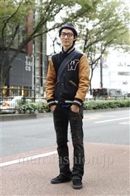 ファッションコーディネート原宿・表参道 2011年11月 桜井友博さん