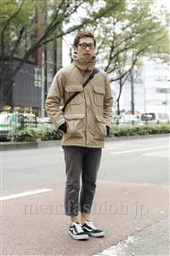 ファッションコーディネート原宿・表参道 2011年11月 渡部正馬さん