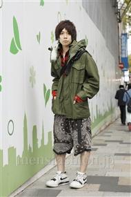 ファッションコーディネート原宿・表参道 2011年11月 青木健真さん