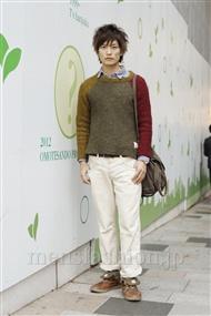 ファッションコーディネート原宿・表参道 2011年11月 中嶋時男さん
