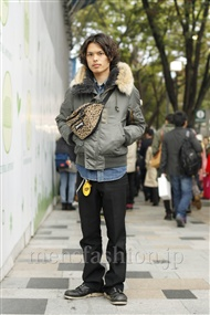 ファッションコーディネート原宿・表参道 2011年11月 青山清志さん