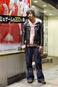 ファッションコーディネート原宿・表参道 2011年11月 大倉士門さん