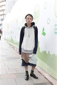 ファッションコーディネート原宿・表参道 2011年12月 カワイコウジさん