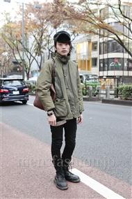 メンズファッション.jp注目コーディネート 2011年12月 上野 亮さん