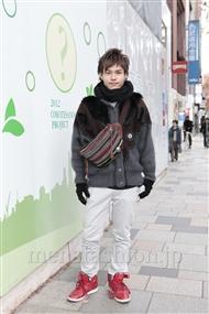 ファッションコーディネート原宿・表参道 2011年12月 村上雄祐さん