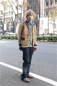 ファッションコーディネート原宿・表参道 2011年12月 大木 光さん