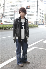 ファッションコーディネート原宿・表参道 2011年12月 大倉士門さん