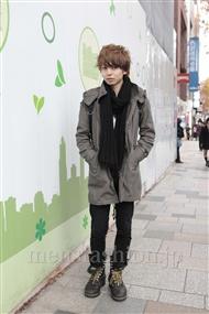 ファッションコーディネート原宿・表参道 2011年12月 斎藤亮太さん