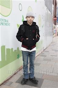 ファッションコーディネート原宿・表参道 2011年12月 佐藤貴龍さん