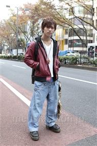 ファッションコーディネート原宿・表参道 2011年12月 夏川登志郎さん