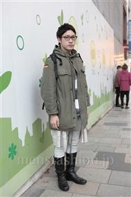 ファッションコーディネート原宿・表参道 2011年12月 ジョナサンさん