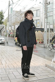 ファッションコーディネート原宿・表参道 2011年12月 辻 純平さん