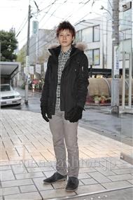 ファッションコーディネート原宿・表参道 2011年12月 上野宏隆さん