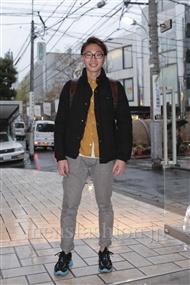 ファッションコーディネート原宿・表参道 2011年12月 Chezさん