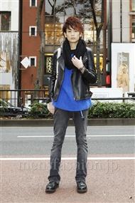 ファッションコーディネート原宿・表参道 2011年12月 斎藤教兵さん