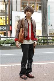 ファッションコーディネート原宿・表参道 2011年12月 木村辰哉さん