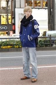 ファッションコーディネート原宿・表参道 2011年12月 松金祐太さん