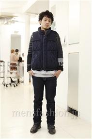 ファッションコーディネート原宿・表参道 2011年12月 KKさん