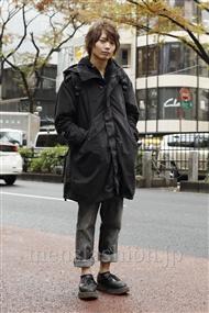 ファッションコーディネート原宿・表参道 2011年12月 藤田純太さん