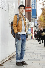 ファッションコーディネート原宿・表参道 2011年12月 横山翔太さん