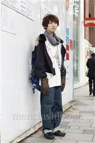 ファッションコーディネート原宿・表参道 2011年12月 浦辻大奨さん