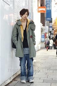 ファッションコーディネート原宿・表参道 2011年12月 新野尾 尚さん