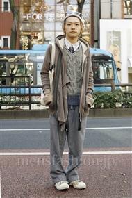 ファッションコーディネート原宿・表参道 2011年12月 桑室俊佑さん
