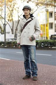 ファッションコーディネート原宿・表参道 2011年12月 中嶋時男さん
