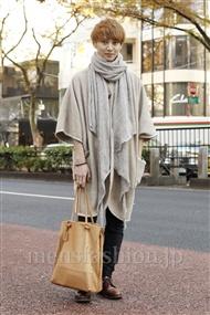ファッションコーディネート原宿・表参道 2011年12月 森 啓輔さん