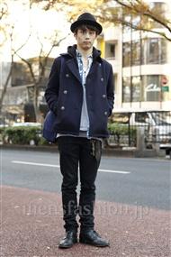 ファッションコーディネート原宿・表参道 2011年12月 武井佑樹さん